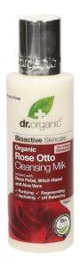 Migliori struccanti Ecobio: Dr Organic Latte detergente delicato con Aloe Vera