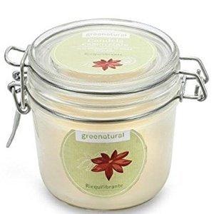 Profumo Ecobio per la casa, candela profumata naturale, Greenatural Candela Riequilibrante