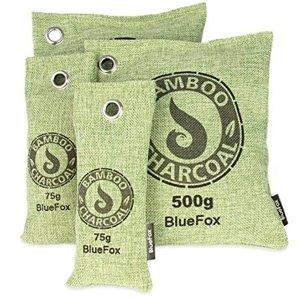 Profumo Ecobio per la casa, sacchetto purificante per l'aria con carbone attivo al profumo di bambù