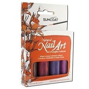 Smalti colorati e non tossici per i bambini: Suncoat Nail Art Kit