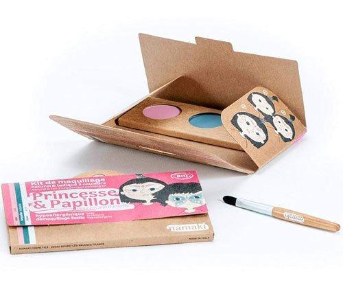 Trucchi per dipingere il viso senza sostanze pericolose. Adatto per i bambini: NAMAKI Set3 colori per il viso
