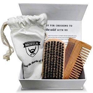 Prodotti Ecobio per Uomini: Bristlr Spazzola e pettine per barba