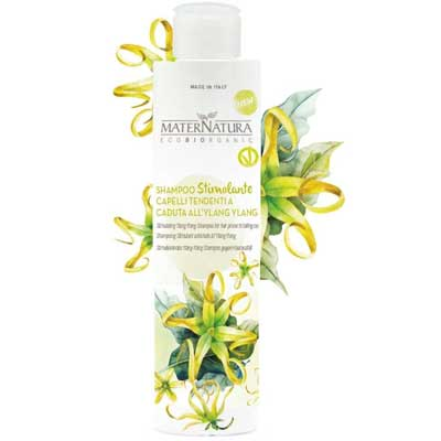 Prodotti Ecobio Anti caduta: Maternatura, shampo con Ylang Ylang