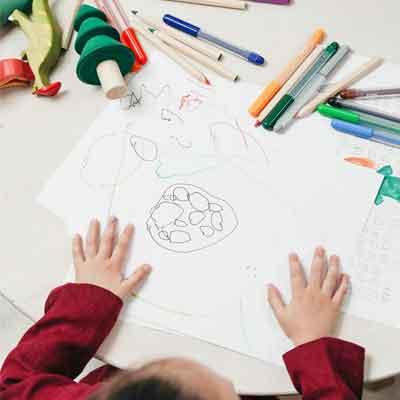 colori ecologici per bambini