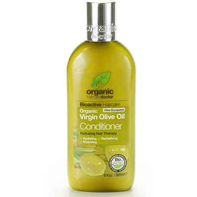 Curly Girl Method: Dr. Organic Conditioner