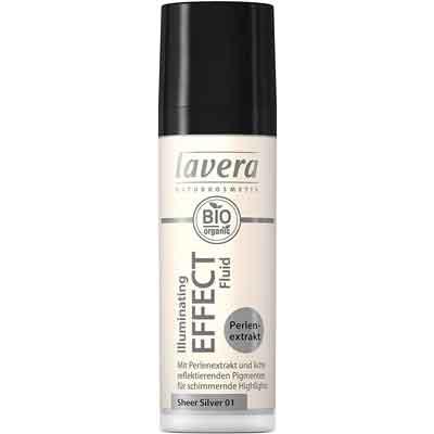 Illuminante viso Ecobio naturale: Lavera crema fluida