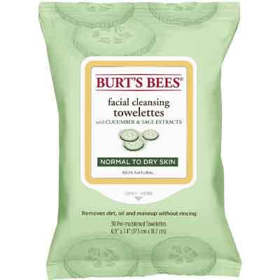 Skincare Coreana Ecobio: Burt's Bee salviettine struccanti