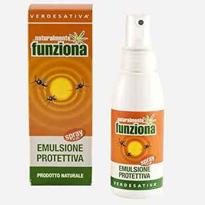 Repellenti antizanzare Ecobio e naturali: Verdesativa emulsione protettiva