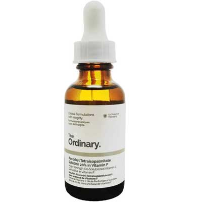 Prodotti Cosmetici The Ordinary: Tetraisopalmitate Solution 20% In Vitamina F