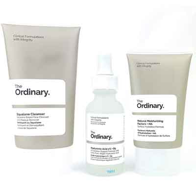 Prodotti The Ordinary: the daily set