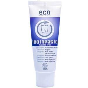 Dentifricio senza fluoro naturale: Eco cosmetics