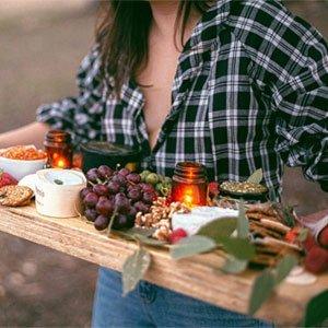 Mangiare sano e fresco durante il blocco utilizzando i kit per i pasti