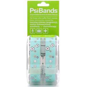 tecnologia in gravidanza: Psi Bands braccialetto per alleviare la nausea