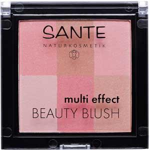 Trucco illuminante viso Ecobio: Sante blush Multi effect