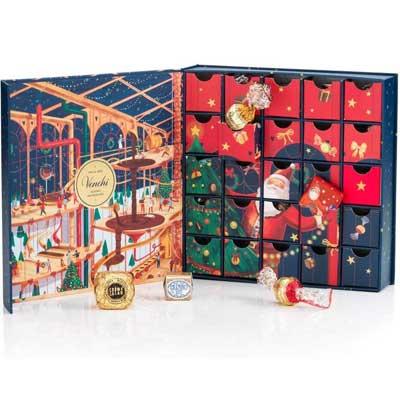 Regali di tendenza per Natale 2020: Venchi cioccolatini in calendario dell'avvento
