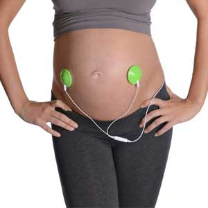 tecnologia in gravidanza: Wawhello cuffie prenatali