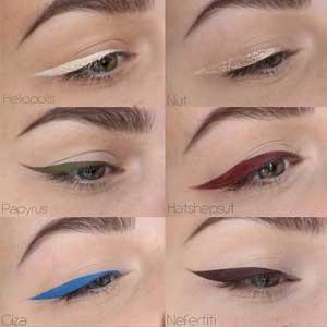 Eyeliner colorato naturale ed Ecobio: Neve Cosmetics colori diversi