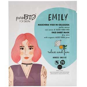 Maschera viso Ecobio in tessuto: purobio