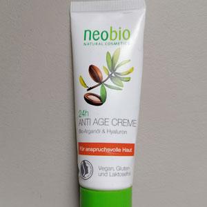 Crema viso Antiage Neobio, recensione