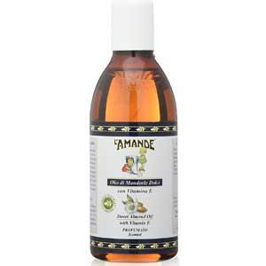Benefici dell'Olio di Mandorle dolci. L'Amande olio di mandorle dolci spremuto a freddo bottiglia da 250 ml