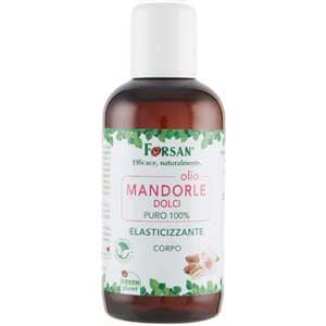 Benefici dell'Olio di Mandorle dolci, Forsan olio puro al 100% per il corpo
