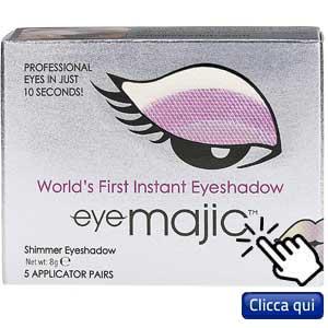 Trucco e unghie con adesivi: Eye magic, ombretto adesivo