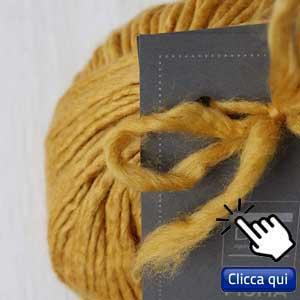 filati eco sostenibili per lavorare a maglia: gomitolo di lana merino