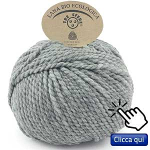filati eco sostenibili per lavorare a maglia: lana ecologica