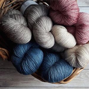 Gomitoli per uncinetto e ferri ecosostenibili lana, alpaca cotone e tanti altri