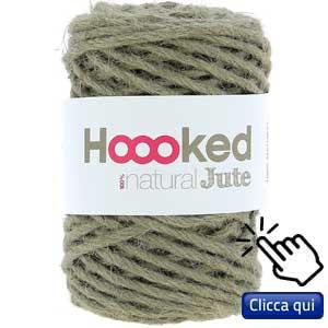filati eco sostenibili per lavorare a maglia: gomitolo di juta