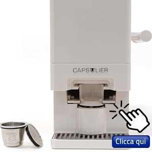 Capsule per caffè ecologiche: dispositivo per ricaricare in modo automatico e veloce le capsule del caffè
