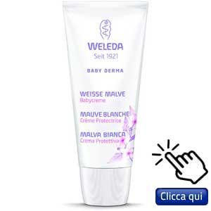 La malva nei cosmetici: Weleda, crema viso super delicata