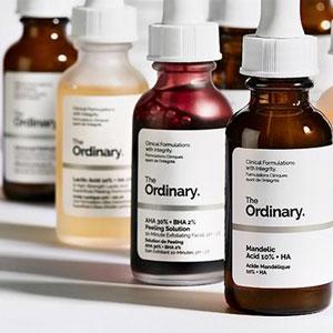 Guida semplice ai prodotti The ordinary